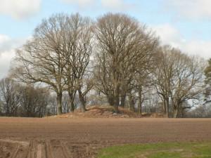 Die Hügelgräber sind immer noch ein grandioser Anblick